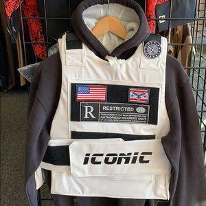 Bulletproof style vest fashion iconic icon vest